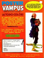 Verso de Dossier Negro -86- La cosa del pantano