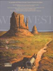 Verso de Wild West (Gloris/Lamontagne) -2- Wild bill