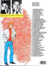 Verso de Ric Hochet -33a1991- Le scandale Ric Hochet