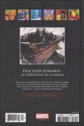 Verso de Marvel Comics - La collection (Hachette) -175139- Docteur Strange : Le Crépuscule de la Magie