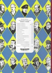 Verso de Blake e Mortimer (en portugais) (Público - Edições ASA) -1- O segredo do Espadão - Tomo I: A perseguição fantástica