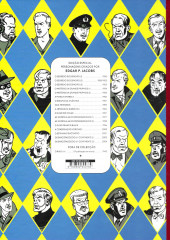 Verso de Blake e Mortimer (en portugais) (Público - Edições ASA) -6- A marca amarela