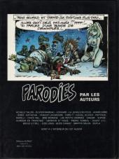 Verso de Parodies (Collectif chez Soleil) -1- Parodies - 1
