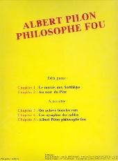 Verso de Albert Pilon philosophe fou -1- Le marais aux sortilèges