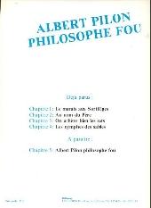 Verso de Albert Pilon philosophe fou -4- Les Nymphes des sables