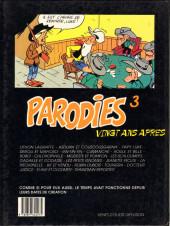 Verso de Parodies (Collectif chez Soleil) -3- 20 ans après