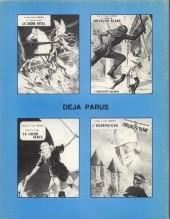 Verso de Le chevalier blanc -8- L'Ombre du Glaive