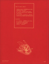 Verso de Les mangeurs de châtaignes - Les mangeurs de Châtaignes