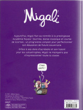 Verso de Migali -1- Bienvenue à l'Académie Royale !