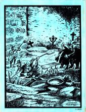Verso de Dossier Negro -94- Dax, el guerrero