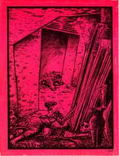 Verso de Dossier Negro -95- Leyendas de terror