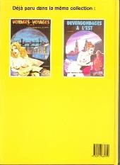 Verso de Voyages-voyages -3- Les voluptés de l'Orient Express