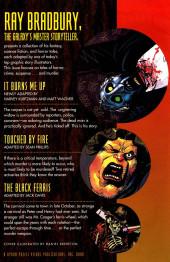 Verso de Ray Bradbury comics (Topps comics - 1993) -2- Special Horror Issue!