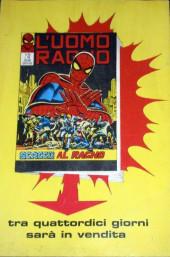 Verso de L'uomo Ragno V1 (Editoriale Corno - 1970)  -112- La Sorpresa di Kraven