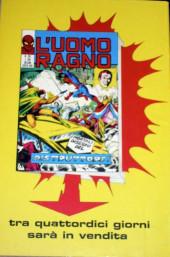 Verso de L'uomo Ragno V1 (Editoriale Corno - 1970)  -125- Il Frantumatore