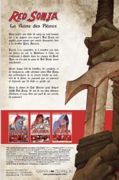 Verso de Red Sonja (Gail Simone-Walter Geovani) -1- La Reine des Fléaux