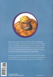 Verso de Clássicos da Banda Desenhada (Os) -8- Quarteto Fantástico