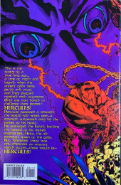 Verso de Hercules - The Legendary Journeys (Topps comics - 1996) -1- Issue # 1