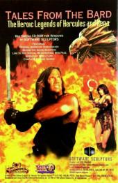 Verso de Hercules - The Legendary Journeys (Topps comics - 1996) -4- The Warrior Princess Part Two of Three