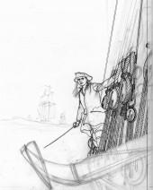 Verso de L'Épervier (Pellerin) -10TL2- Une Princesse Indienne