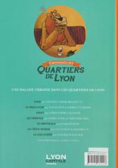Verso de Chroniques des Quartiers de Lyon
