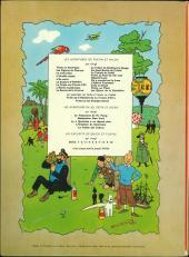 Verso de Tintin (Historique) -9B36- Le crabe aux pinces d'or
