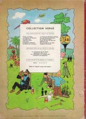 Verso de Tintin (Historique) -11B19- Le secret de la Licorne