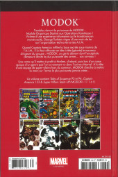 Verso de Marvel Comics : Le meilleur des Super-Héros - La collection (Hachette) -130- MODOK