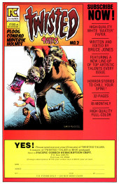 Verso de Alien Worlds (Pacific comics - 1982) -1- Issue # 1