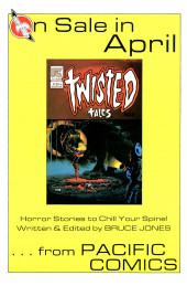 Verso de Alien Worlds (Pacific comics - 1982) -2- Issue # 2
