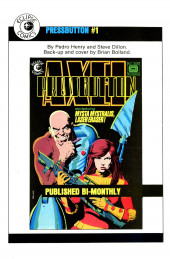 Verso de Alien Worlds (Pacific comics - 1982) -8- Issue # 8