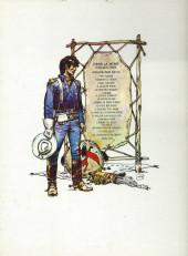 Verso de Blueberry -12a1977/01- Le spectre aux balles d'or