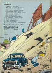 Verso de Gil Jourdan -8a1973- Les 3 taches