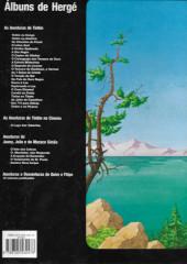Verso de Tintim - Divers (en portugais) - Tintim e o lago dos tubarões
