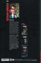 Verso de Batman Arkham -1- Double-Face