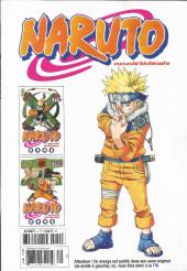 Verso de Naruto (Hachette) -9- L'intégrale - Tome 9
