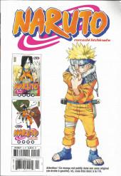 Verso de Naruto (Hachette) -10- L'intégrale - Tome 10
