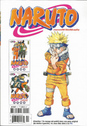 Verso de Naruto (Hachette) -11- L'intégrale - Tome 11