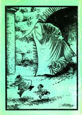 Verso de Dossier Negro -116- Los amantes del pantano