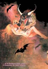 Verso de Dossier Negro -120- Proceso a una bruja