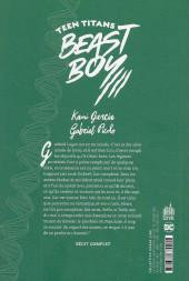 Verso de Teen Titans - Beast Boy - Teen Titans : Beast Boy