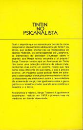 Verso de Tintim - Divers (en portugais) - Tintin no psicanalista