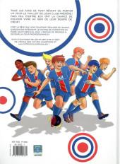 Verso de PSG Academy - New generation -1- À l'école des champions