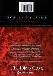 Verso de Goblin Slayer : Year One -6- Tome 6