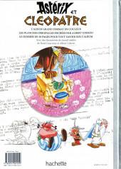 Verso de Astérix (albums Luxe en très grand format) -6- Astérix et Cléopâtre
