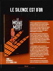 Verso de Le moine mort -1Extrait- Extrait tome 1