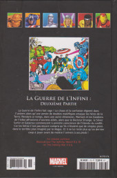 Verso de Marvel Comics - La collection (Hachette) -176154- La Guerre de L'Infini : Deuxième Partie