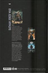 Verso de Batman Joker War -2- Tome 2