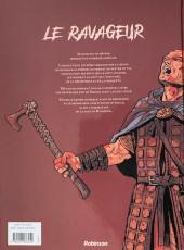 Verso de Le ravageur -1- La Hache et le Rêve