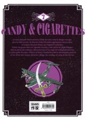 Verso de Candy & cigarettes -7- Tome 7